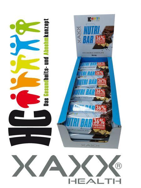HC BODY CONTROL NUTRI BAR 18 x 44 Gramm
