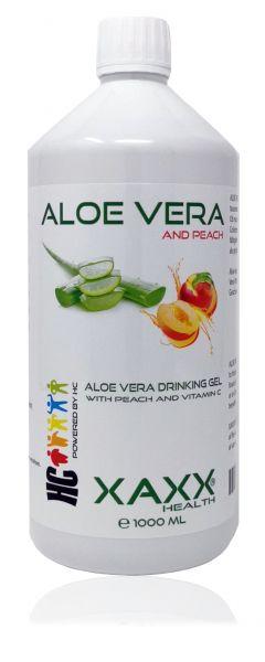 Aloe Vera Drinking Gel mit Pfirsich & Vitamin C