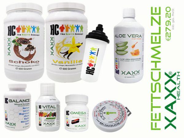 HC-Set 'Abnehmen mit Fettschmelze'