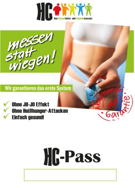 HC-Pass mit Body-Control-Plan