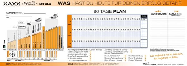 Fasini Akademie 90 Tage-Dashboard 5er-Pack
