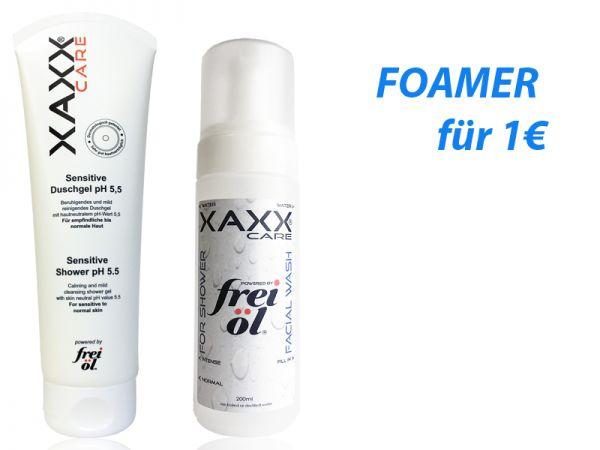 Set FreiÖL Sensitive Shower plus Foamer