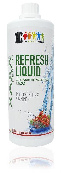 HC Refresh Liquid ERDBEER RHABARBER Konzentrat 1:120